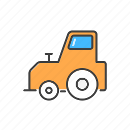excavator, heavy, machine, vehicle icon