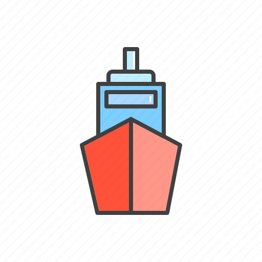 boat, craft, ship, shipping, transport icon