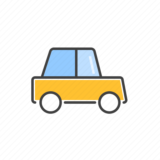 cab, passenger, taxi, transport, vehicle icon