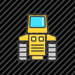 automobile, machine, tractor, vehicle icon