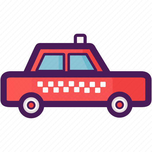cab, passenger, taxi, transportation, travel icon