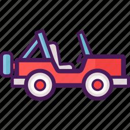 adventure, jeep, land rover icon