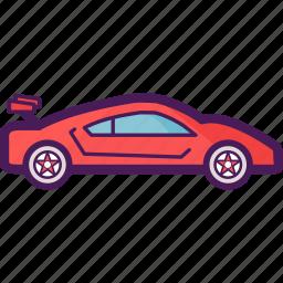 adventure, car, race, sport, sports icon