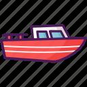 ship, watercraft, travel, boat icon