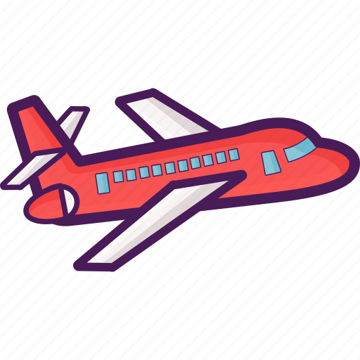 aeroplane, aircraft, airplane, flight, jet, plane, travel icon