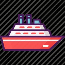 boats, ship, travel, watercraft icon