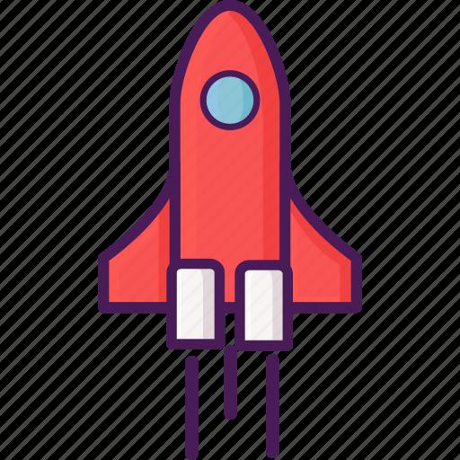 flight, space, spacecraft, spaceship icon