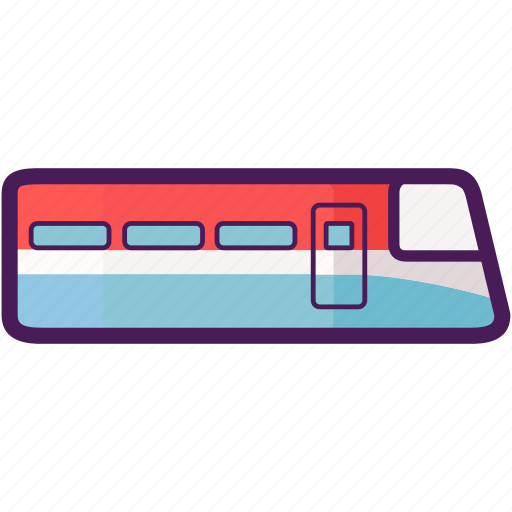 metro, rail track, train, transportation, travel icon
