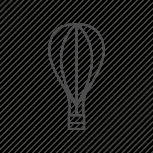 balloon, line, transport icon