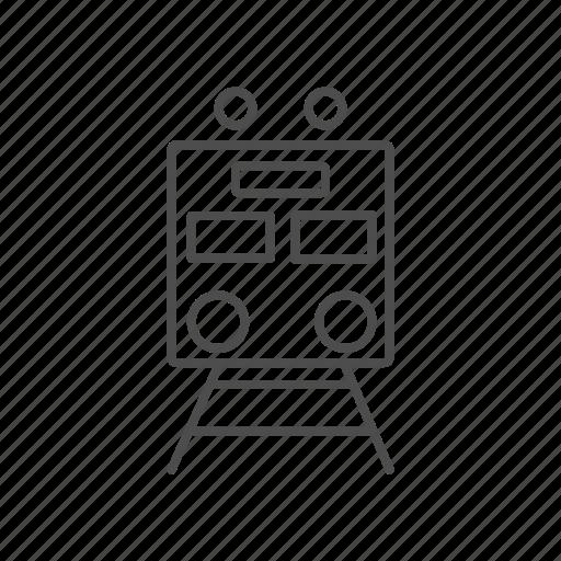 Line, train, transport icon - Download on Iconfinder