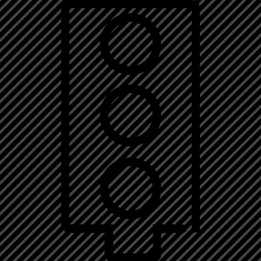 traffic, traffic light, transportation icon