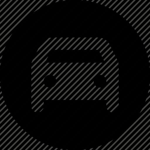 car, circle icon