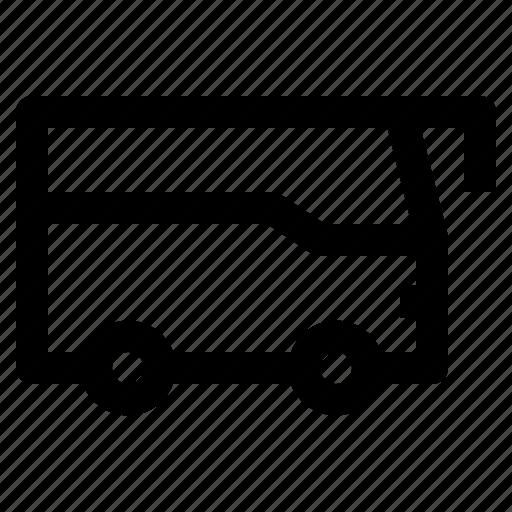 bus, transport, transportation icon