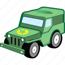 car, military, transport, transportation, vehicle icon