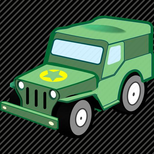 car, military, transport, transportation, vehicle icon