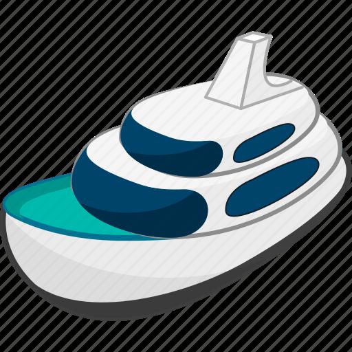 ship, shipping, transport, transportation, travel icon