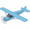 aeroplane, aircraft, airplane, flight, plain, transport icon