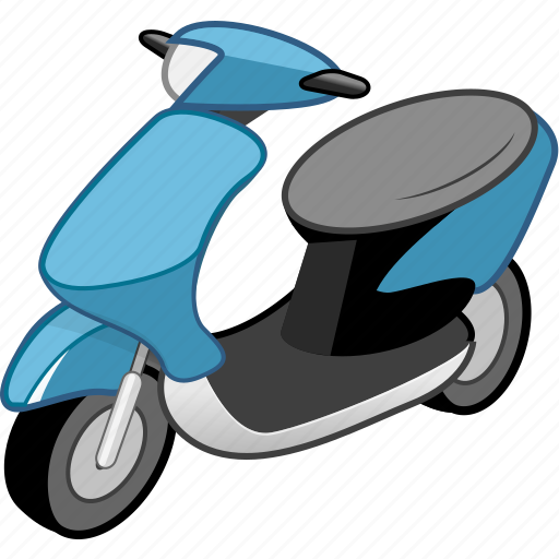 car, cargo, delivery, moto, scooter, transport, transportation icon