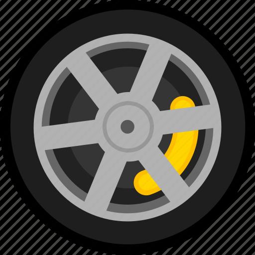 car, transport, transportation, vehicle, wheel icon