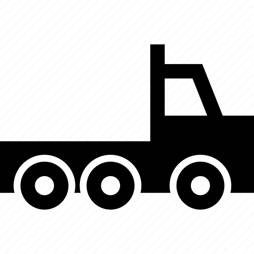 cab, camion, lorry, truck icon
