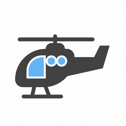 aircraft, aviation, chopper, flight, helicopter, transport, vehicle icon