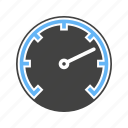 accelaration, car, meter, speed counter, speedometer, transport, transportation icon
