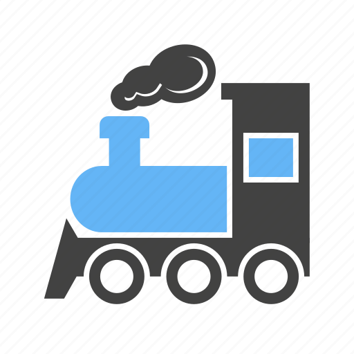locomotive, rail, railway, train, transport, travel, vehicle icon