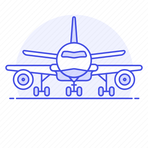 1, aeroplane, air, aircrafts, airplane, aviation, flight, landing, plane, takeoff, transportation icon