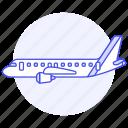 aircrafts, transportation, aeroplane, sky, fixed, wing, aviation, air, airplane, plane, flight