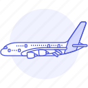 aircrafts, transportation, aeroplane, fixed, wing, plane, air, airplane, aviation, flight