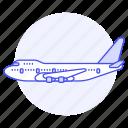 aeroplane, air, aircrafts, airplane, aviation, fixed, flight, plane, sky, transportation, wing