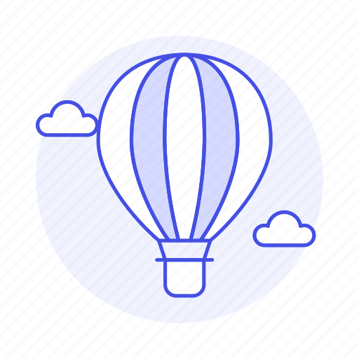 aerostat, air, aircrafts, aviation, balloon, bolloon, craft, hot, lighter, transportation icon