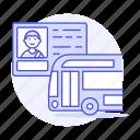 bus, commercial, details, driver, driving, info, license, male, permit, road, transportation
