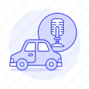 ai, assisted, audio, car, cars, land, recognition, road, smart, system, technology, transportation, voice
