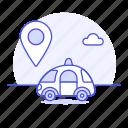 antenna, car, cars, gps, location, pin, road, smart, tracker, transmitter, transportation