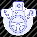 cars, driving, media, road, self, smart, steering, system, transportation, vehicle, wheel