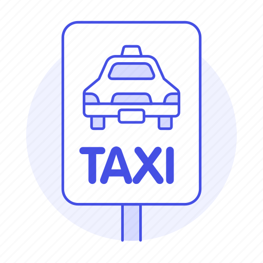 cab, car, land, road, sign, stop, street, taxi, taxicab, traffic, transportation, vehicle icon
