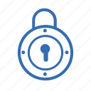 cargo, delivery, lock, security, transportation icon