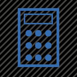 calculator, cargo, delivery, finances, transportation icon
