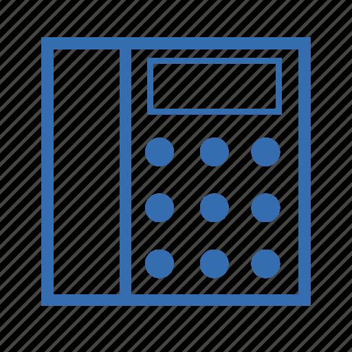 calculator, cargo, delivery, transportation icon