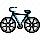 bicycle, bike, cycling, transport, travel, vehicle icon