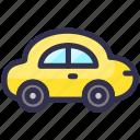 travel, cooper, car, automobile icon