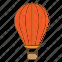 airship, baloon, transportation, vehicle