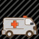ambulance, transportation, vehicle