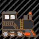 train, transportation, vehicle
