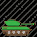 tank, transportation, vehicle