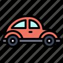 transport, vehicle, beetle, car, minicar