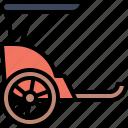 transport, vehicle, transportation, rickshaw, traditional, china, beijing