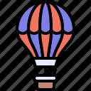 transport, vehicle, balloon, hot air balloon