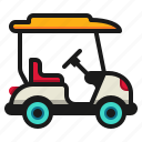 automobile, cart, club, electric, golf, transportation, vehicle